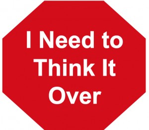 Sales Objections - I need to think it over objection