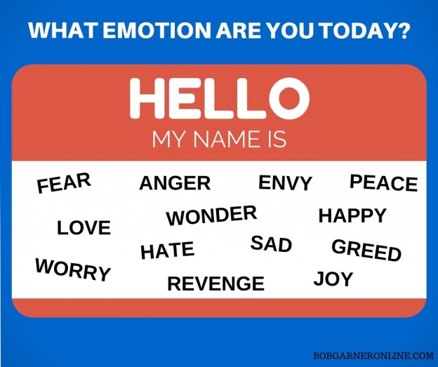 what emotion are you today