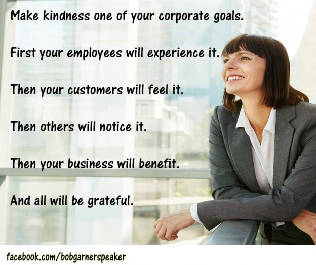Mindful kind business expert bob garner