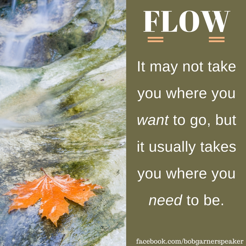 flow may not take you