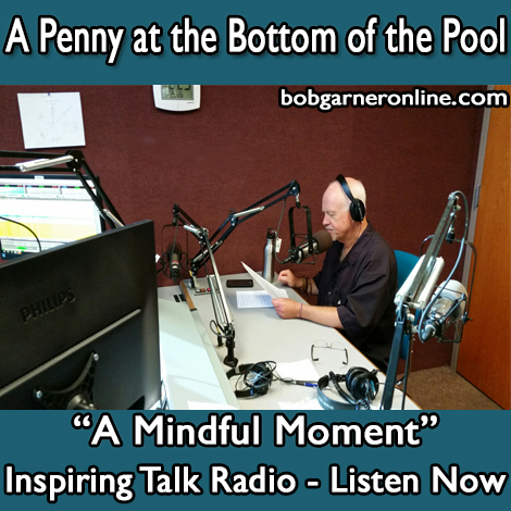inspiring talk radio story about why you should stop thrashing for solution to problems.